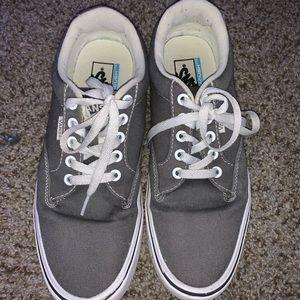vans grey ultra cushion shoes